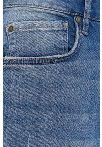 Niebieskie szorty Pepe Jeans na co dzień, casualowe, gładkie