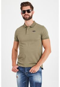 Koszulka polo Aeronautica Militare elegancka, polo