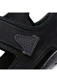 Czarne sandały Sergio Bardi na lato
