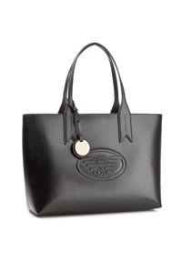 Czarna torebka klasyczna Emporio Armani klasyczna
