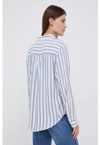 Wrangler - Koszula. Okazja: na co dzień. Kolor: niebieski. Materiał: tkanina. Długość rękawa: długi rękaw. Długość: długie. Styl: casual