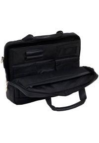 Czarna torba na laptopa MCKLEIN w kolorowe wzory #5