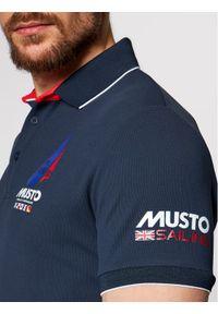 Musto Polo Sardinia 82015 Granatowy Regular Fit. Typ kołnierza: polo. Kolor: niebieski #4