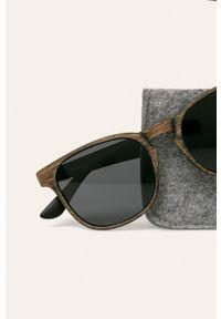 Brązowe okulary przeciwsłoneczne medicine