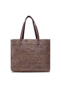 U.S. Polo Assn - Torebka U.S. POLO ASSN. - Ithaca Shopping Bag Poly BEUIH5175WZB500 Brown. Kolor: brązowy. Styl: klasyczny