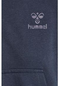 Niebieska bluza Hummel raglanowy rękaw, na co dzień