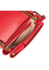 Pinko - Torebka PINKO - Love Mini Soft Simply 5 Cl. PE 21 PLTT 1P2288 Y6XT Red R43. Kolor: czerwony. Materiał: skórzane. Styl: biznesowy, wizytowy