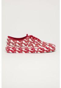 Vans - Tenisówki X OPENING CEREMONY. Nosek buta: okrągły. Zapięcie: sznurówki. Kolor: czerwony. Materiał: guma