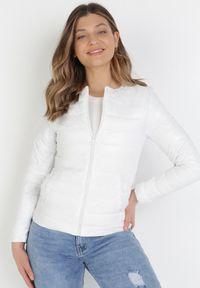 Biała kurtka przejściowa Born2be