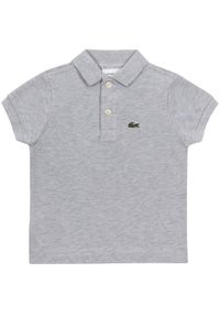 Szary t-shirt polo Lacoste polo