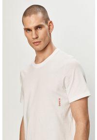 Hugo - T-shirt (2-pack). Okazja: na co dzień. Kolor: biały. Materiał: dzianina. Wzór: gładki. Styl: casual