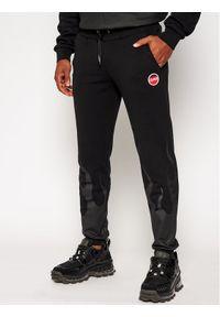 Czarne spodnie dresowe Colmar