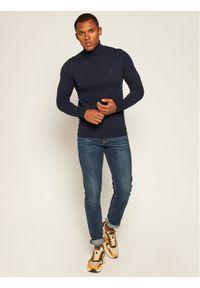 Niebieski golf Trussardi Jeans z golfem