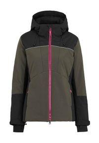 Cellbes Kurtka narciarska Czarny female czarny 34/36. Kolor: czarny. Materiał: jersey, materiał