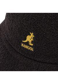 Kangol - Kapelusz KANGOL - Bucket Bermuda Casual 0397BC Black/Gold BG991. Kolor: czarny. Materiał: nylon, akryl, materiał. Styl: casual