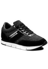 Czarne buty sportowe Calvin Klein Jeans
