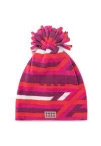 Różowa czapka zimowa LEGO Wear