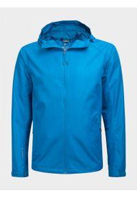 Niebieska kurtka outhorn ze stójką