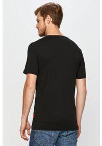 Wielokolorowy t-shirt John Frank casualowy, na co dzień