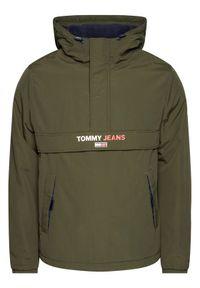 Zielona kurtka przejściowa Tommy Jeans