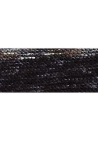 TOP SECRET - Sweter z miękkiej dzianiny. Materiał: dzianina. Długość rękawa: długi rękaw. Długość: długie. Wzór: kolorowy. Sezon: zima
