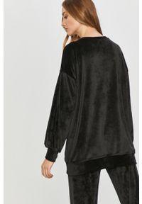 Czarna bluza Answear Lab z długim rękawem, na co dzień