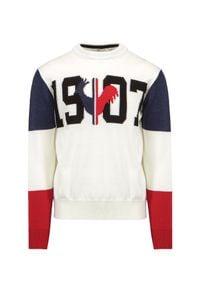 Rossignol - Sweter wełniany ROSSIGNOL 1907 KNIT. Okazja: na urodziny. Materiał: wełna. Wzór: aplikacja. Styl: sportowy