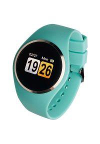 Zielony zegarek GARETT smartwatch, elegancki