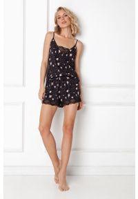 Czarna piżama Aruelle