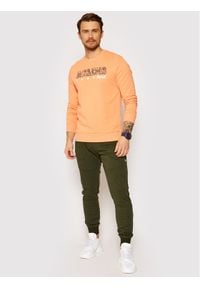 Jack & Jones - Jack&Jones Spodnie dresowe Will Air Sweat Noos 12184970 Zielony Regular Fit. Kolor: zielony. Materiał: dresówka #4