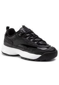 Czarne buty sportowe Guess