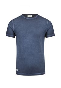 T-shirt Dondup krótki, z nadrukiem, klasyczny, z krótkim rękawem