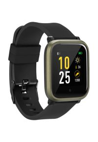 Czarny zegarek Acme smartwatch, sportowy