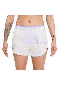 Spodenki do biegania damskie Nike Icon Clash Tempo Luxe CZ9638. Materiał: włókno, poliester, tkanina, materiał. Technologia: Dri-Fit (Nike). Wzór: nadruk, aplikacja. Sport: fitness