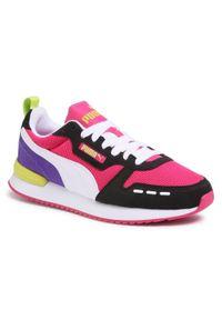 Różowe buty sportowe Puma z cholewką