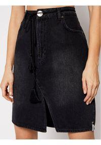 Czarna spódnica jeansowa One Teaspoon