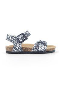 Białe sandały Primigi na klamry