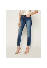 Niebieskie jeansy slim TwinSet