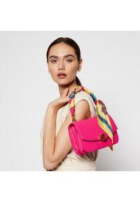 Różowa torebka Lauren Ralph Lauren