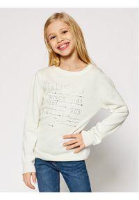 Biały sweter Guess