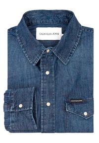 Niebieska koszula casual Calvin Klein Jeans #6