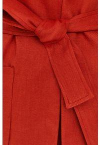 MAX&Co. - Marynarka. Okazja: na co dzień. Kolor: pomarańczowy. Materiał: tkanina. Wzór: gładki. Styl: casual