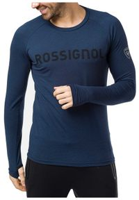 Rossignol - ROSSIGNOL Bluza long-sleeve LIFETECH TEE LS navy. Długość rękawa: długi rękaw