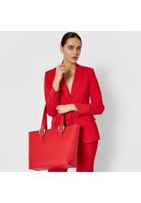 Versace Jeans Couture - Torebka VERSACE JEANS COUTURE - E1VWABF7 71578 500. Kolor: czerwony. Materiał: skórzane