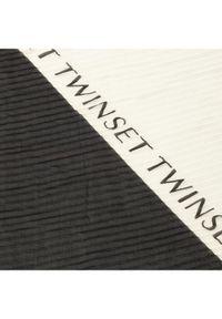 Czarny szalik TwinSet
