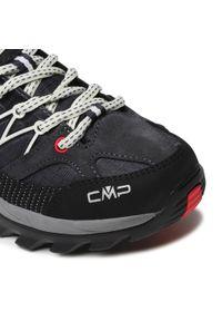 Trekkingi CMP - Rigel Low Wmn Trekking Shoe Wp 3Q54456 Antracite/Off White 76UC. Okazja: na co dzień. Kolor: szary. Materiał: zamsz, materiał, skóra. Szerokość cholewki: normalna. Sezon: lato. Styl: casual