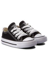 Czarne półbuty Converse z cholewką