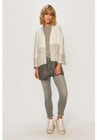 Szary sweter rozpinany Jacqueline de Yong