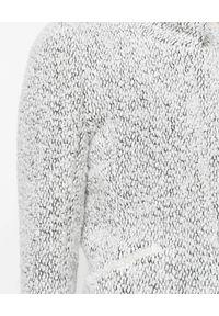 ISABEL MARANT - Tweedowa kurtka Graziae. Kolor: czarny. Materiał: materiał. Długość rękawa: długi rękaw. Długość: długie. Wzór: melanż