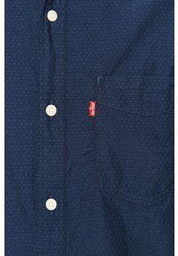 Niebieska koszula Levi's® długa, w kolorowe wzory